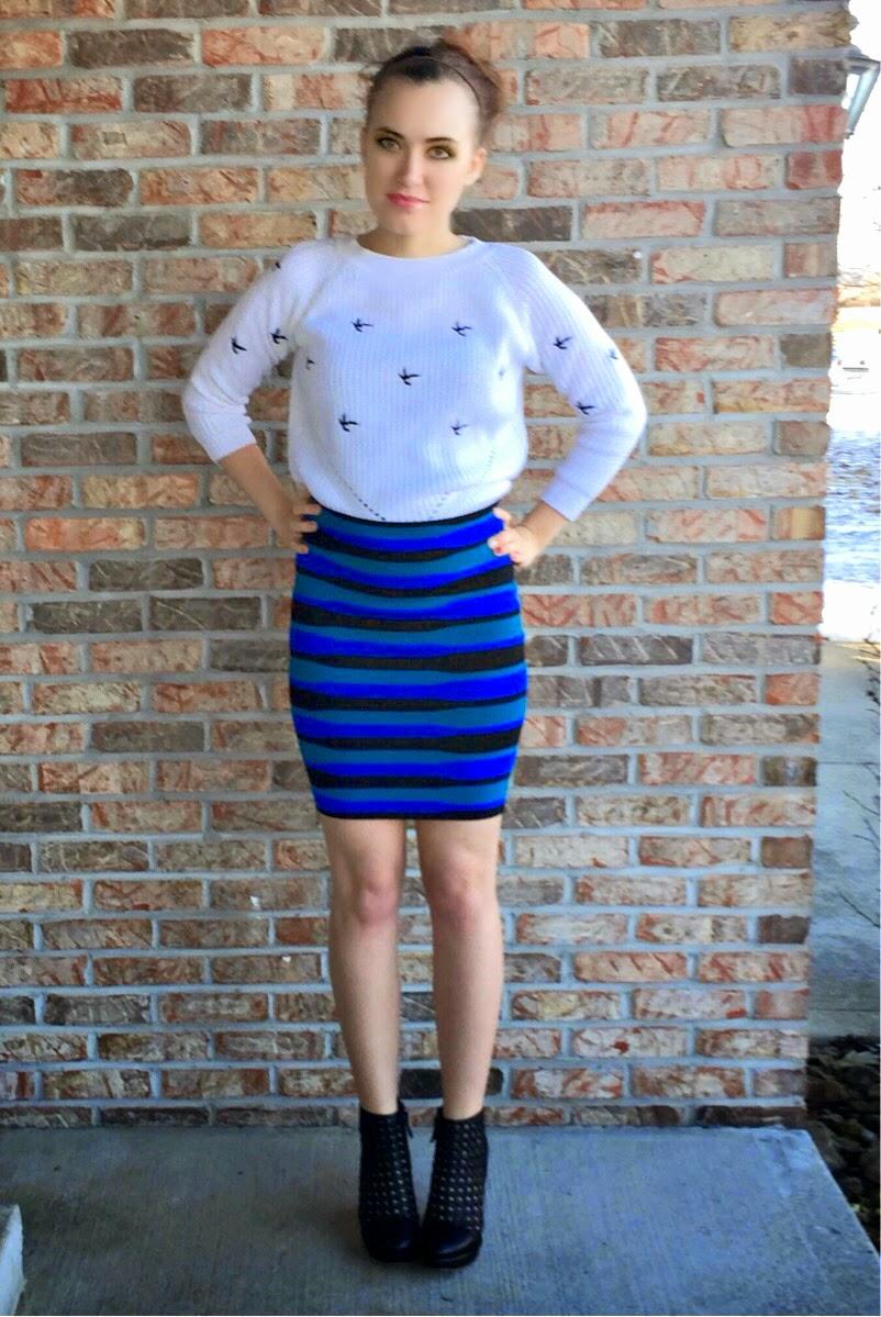 pencil-skirt-raglan-top