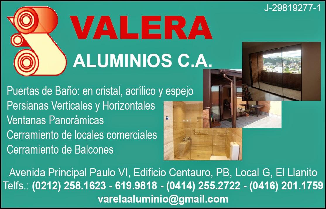 VELARA ALUMINIOS C.A. en Paginas Amarillas tu guia Comercial
