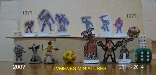 miniatures minis evolution