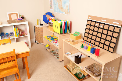NAMC montessori week celebrate Maria Montessori modern classroom environment