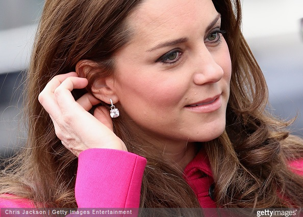 Kate Middleton visited the Stephen Lawrence Centre