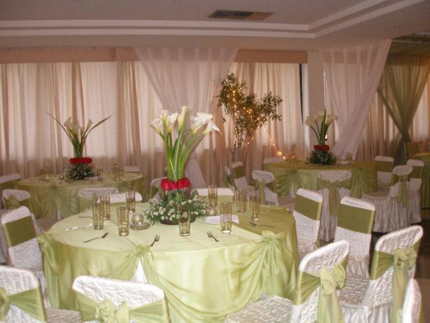 Decoraciones de salones para boda imagui for Decoracion salon boda