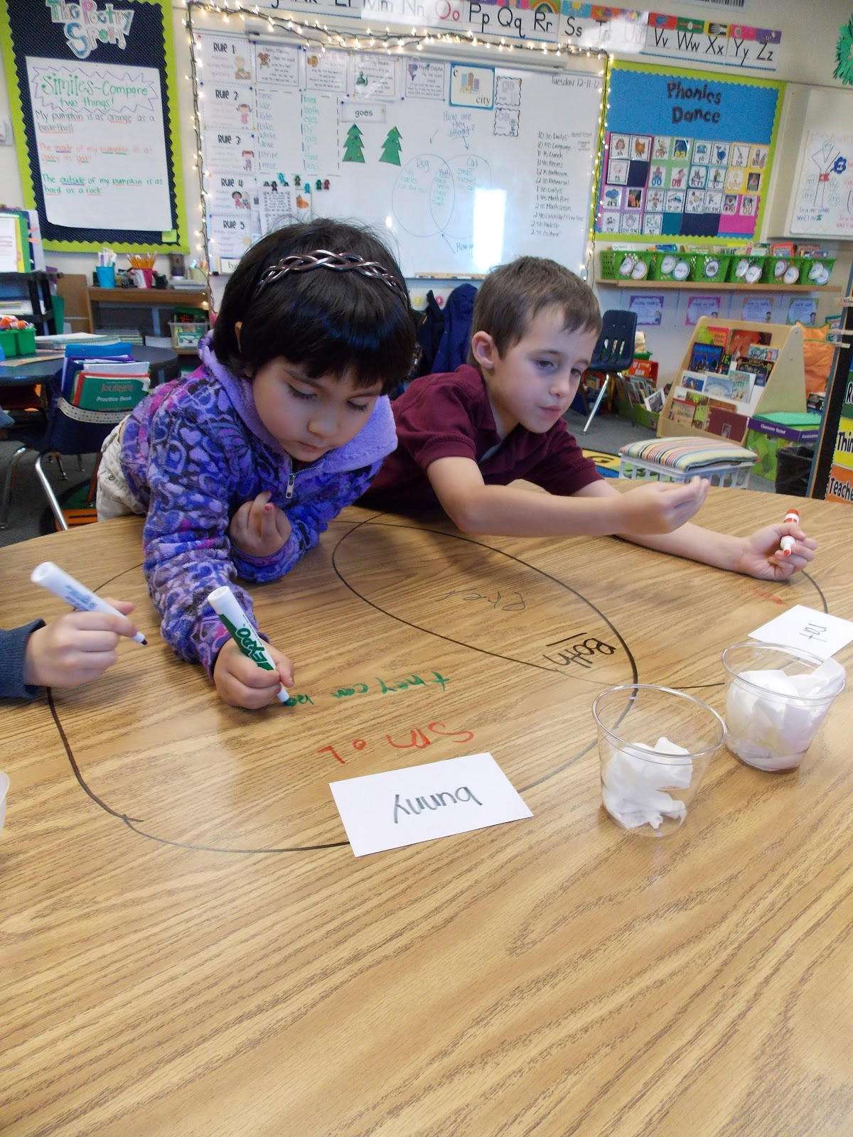 A day in first grade venn diagrams the fun way ccuart Image collections