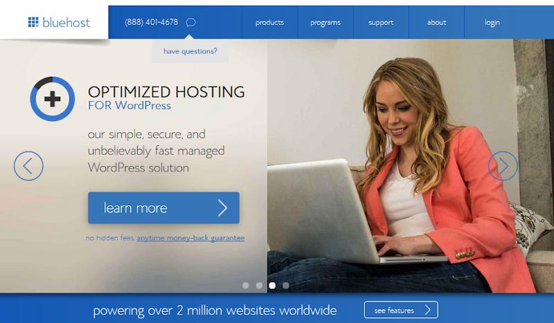 BlueHost Review Shared Hosting for WordPress : eAskme