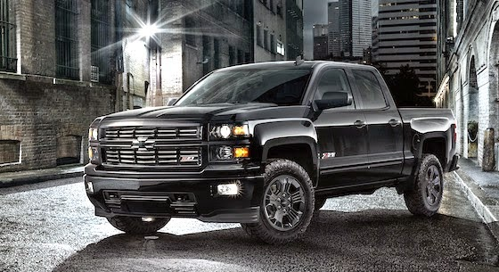 All Black Chevrolet Silverado Midnight Edition