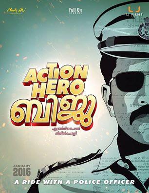 Action Hero Biju movie first look