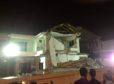 9 Gambar Dan Video Banglo Runtuh Di Shah Alam
