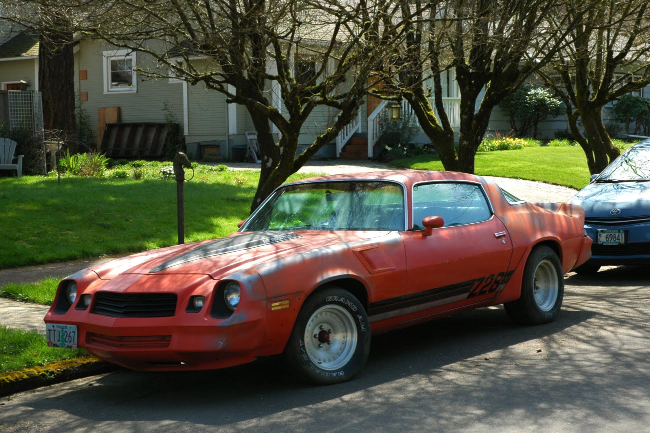 Old Parked Cars 1980 Chevrolet Quot Z28 Quot Camaro