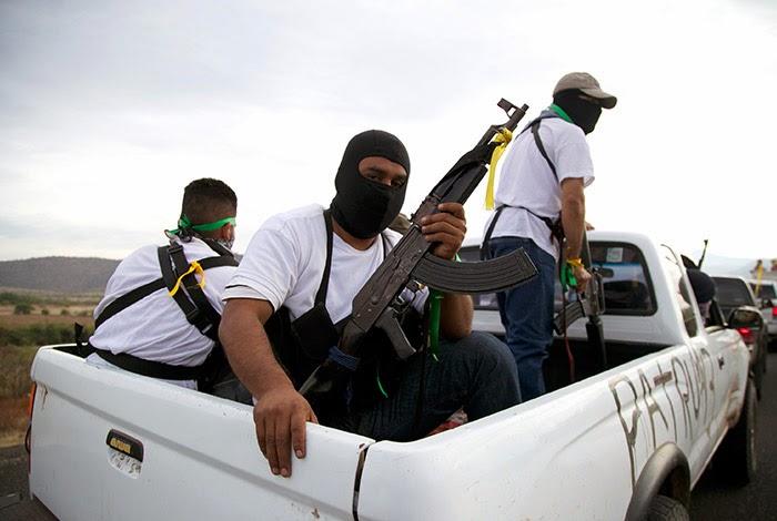Michoacan Bajo Fuego.  Fotogaleria.  Las Victimas de Paracuaro 01_michoacan