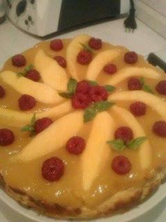 bimby, torta biscotti e mango