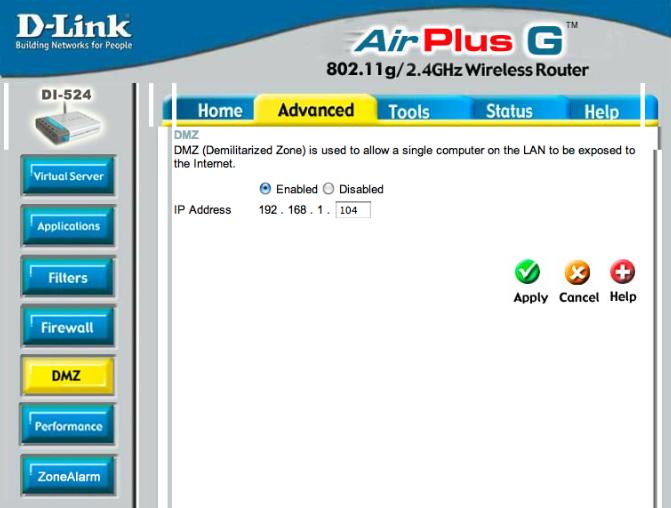 Dlink usernames and passwords