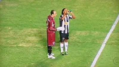 La feinte de l'eau de Ronaldinho
