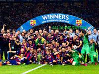 Start Screen Barcelona di Liga Champions 2015 untuk PES 2013