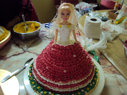 Barbie Cake Buttercream