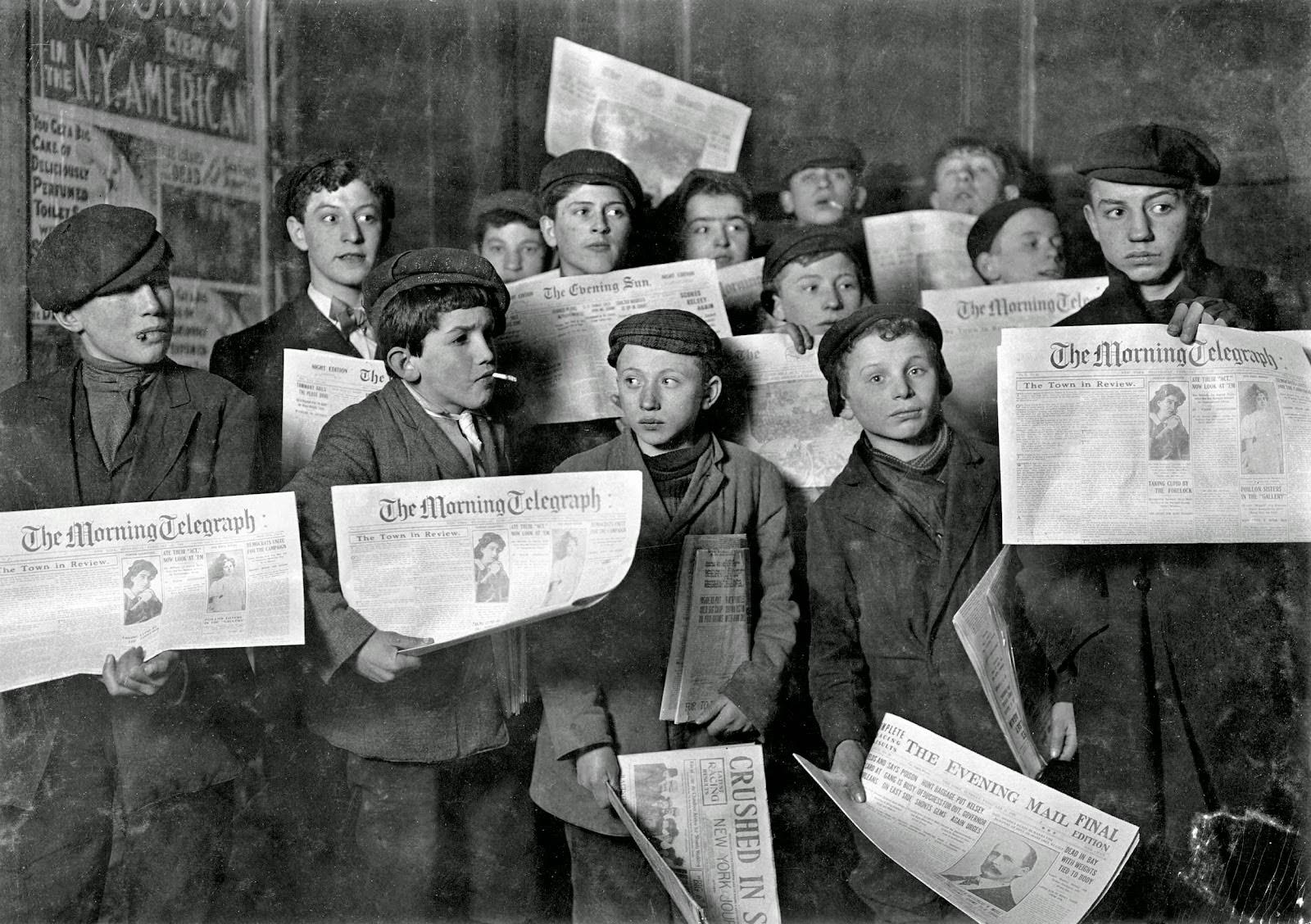 Vintage Newsies