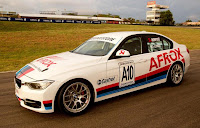 BMW 335i Production Race Saloon 2012 Front Side 2