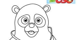Special Agent Oso Coloring Pages  Learn To Coloring