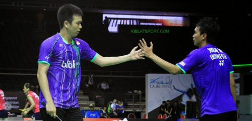 Ahsan/Hendra Gagal Ke Final Singapura Open Super Series 2015