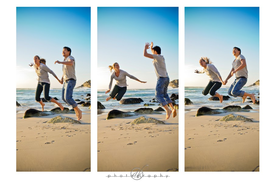 DK Photography 40 Kate & Cong's Engagement Shoot on Llandudno Beach  Cape Town Wedding photographer