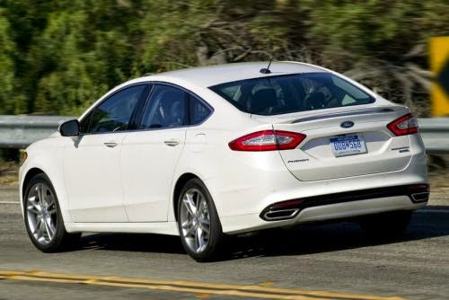 Novo Ford Fusion 2015 fotos sedan premium