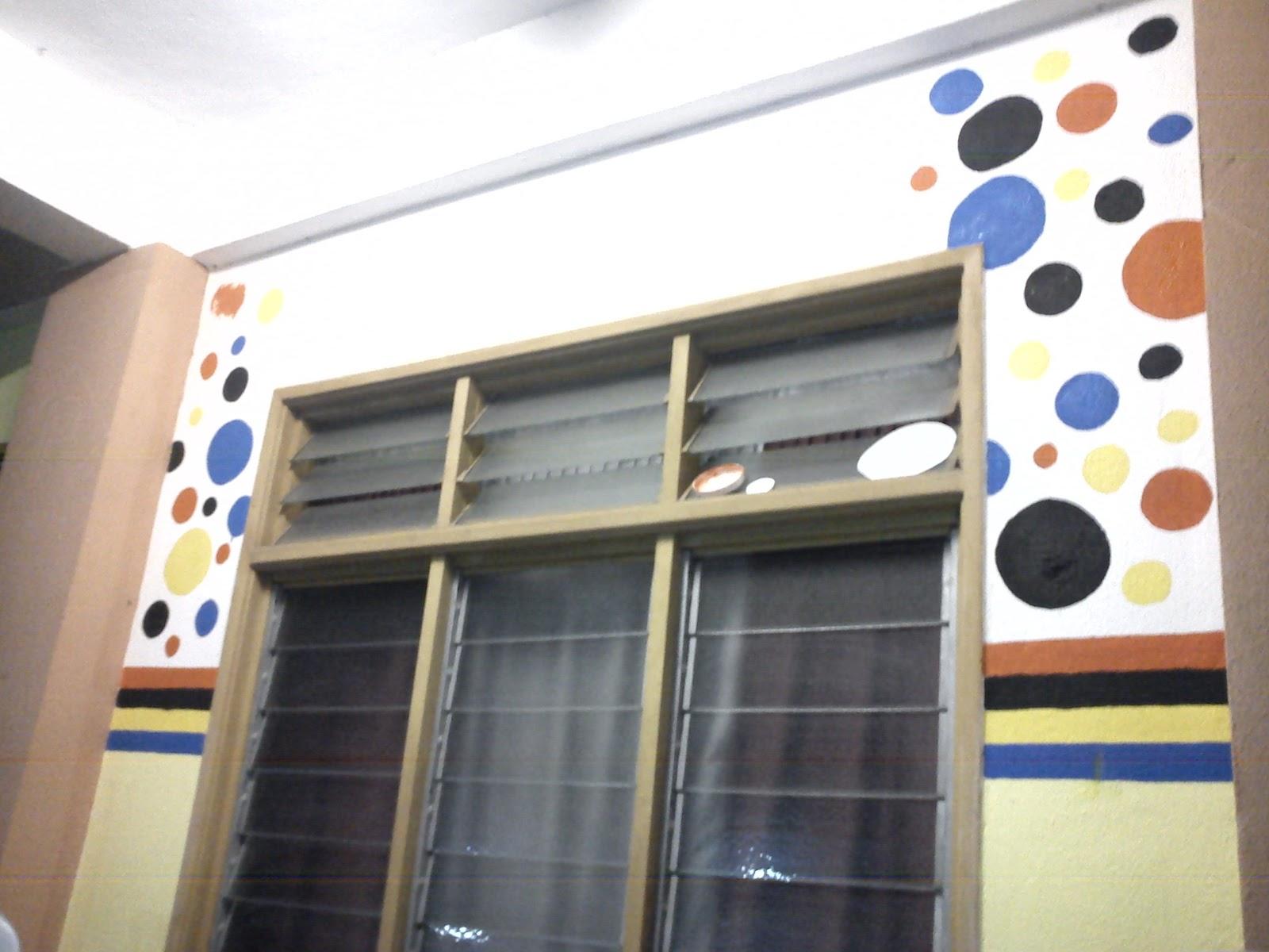 Mural bilik boss sraitaf teratak kehidupan mul for Mural sekolah rendah
