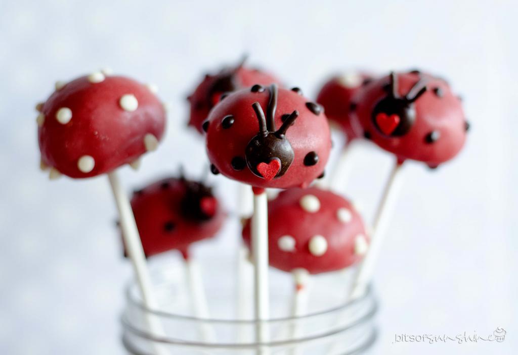 Cake Pops Πασχαλίτσες από το bitsofsunshine