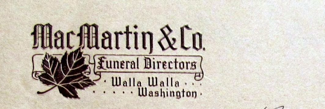 macmartin and hill mortuary and funeral home became macmartin and chamberlain in the mid 1920s