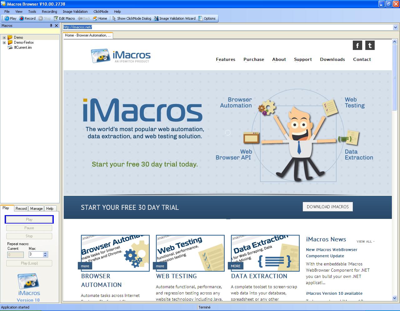 iMacros v10.00.2738 Final Full Crack