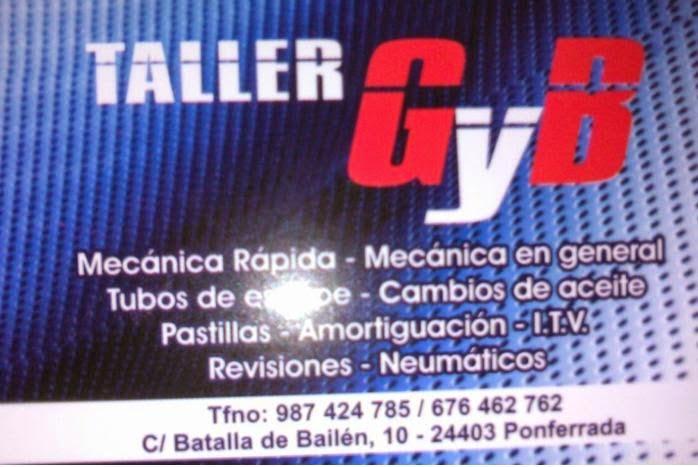 TALLER MECÁNIO G Y B