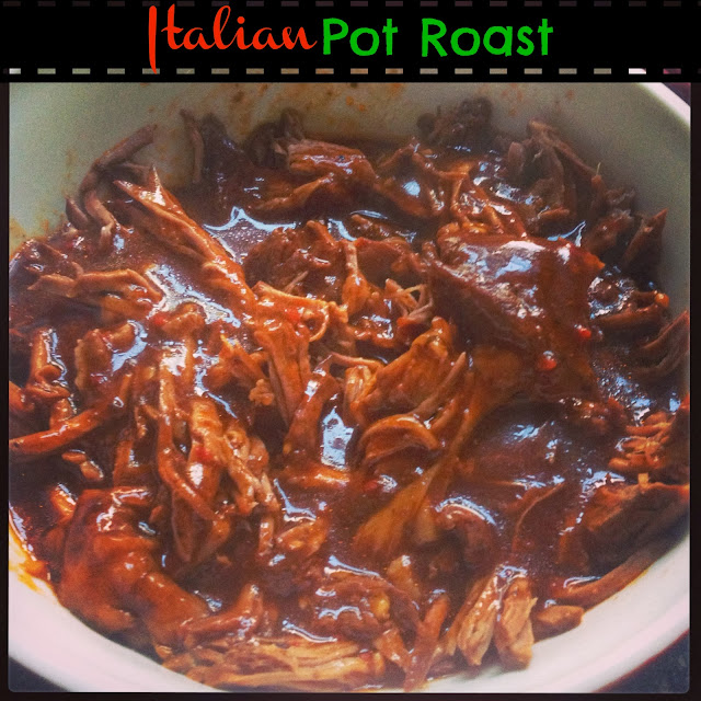 eMeals Slow Cooker Italian Pot Roast - easy & healthy!