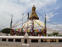 Boudhanath Buddhist Temple (stupa form), Kathmandu, Nepal