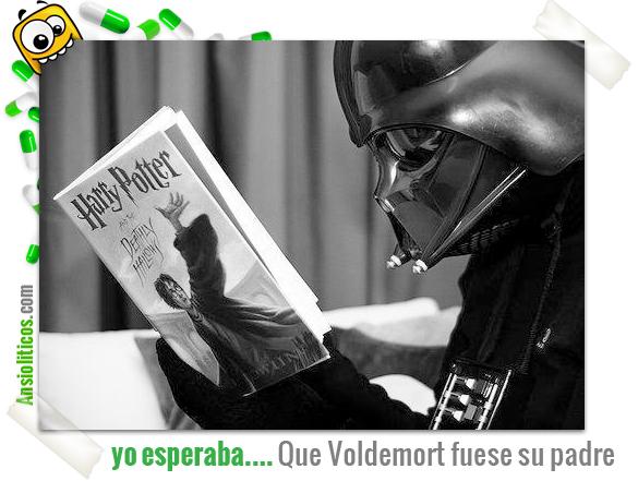 Chiste de Darth Vader y Voldemort