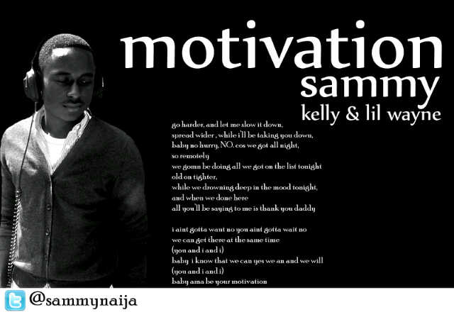 kelly rowland motivation cover art. by Kelly Rowland and Lil