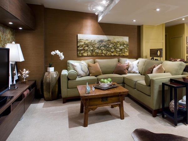 Basements Decorating Ideas by Candice Olson