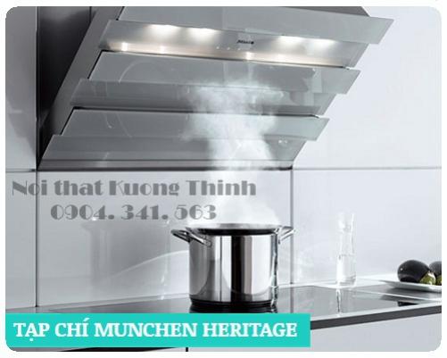 Máy hút mùi nhập khẩu Munchen