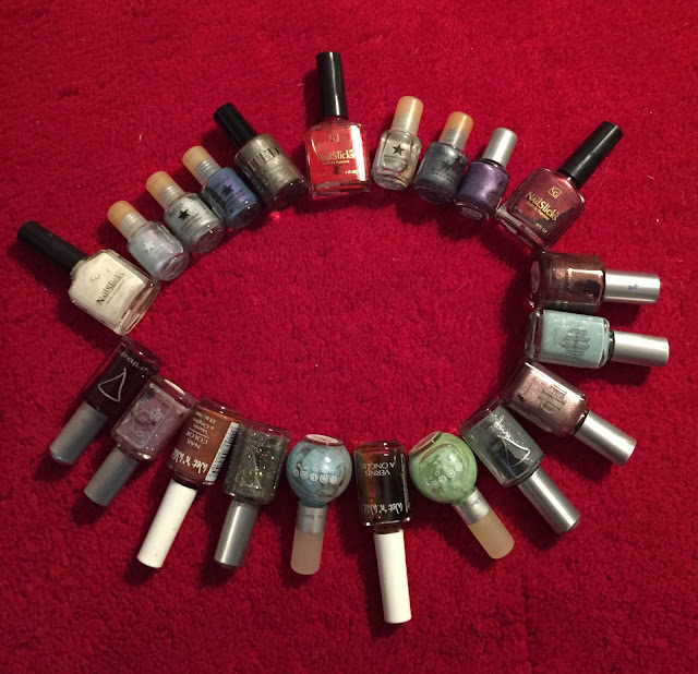 Throwback Thursday, #tbt, nail polish, nail lacquer, nail varnish, nails, manicure, nail polish collection, 1990s, CoverGirl NailSlicks, Wet 'n Wild, Old Navy, Bath & Body Works Color Drops, The Limited, Afterthoughts