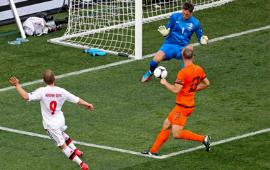 أهداف مباراة الدنمارك وهوندا 1-0 في بطولة اليورو 9-6-2012