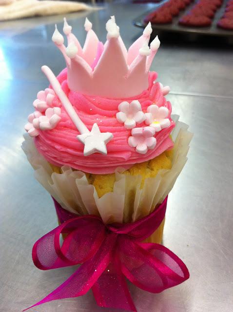 Cupcake con corona