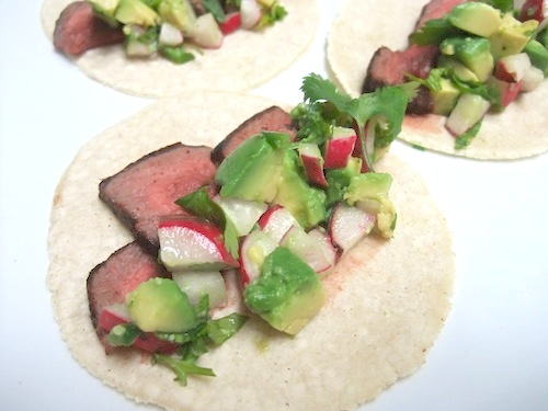 bison tacos