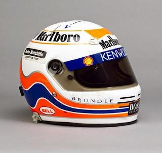 Il casco di Martin Brundle