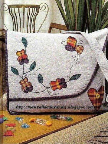 Manualidades virshy bolso patchwork - Manualidades patchwork bolsos ...