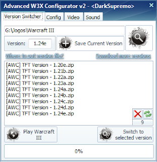 [Warcraft Hacks] Advanced W3X Configurator v2  DotA Tool