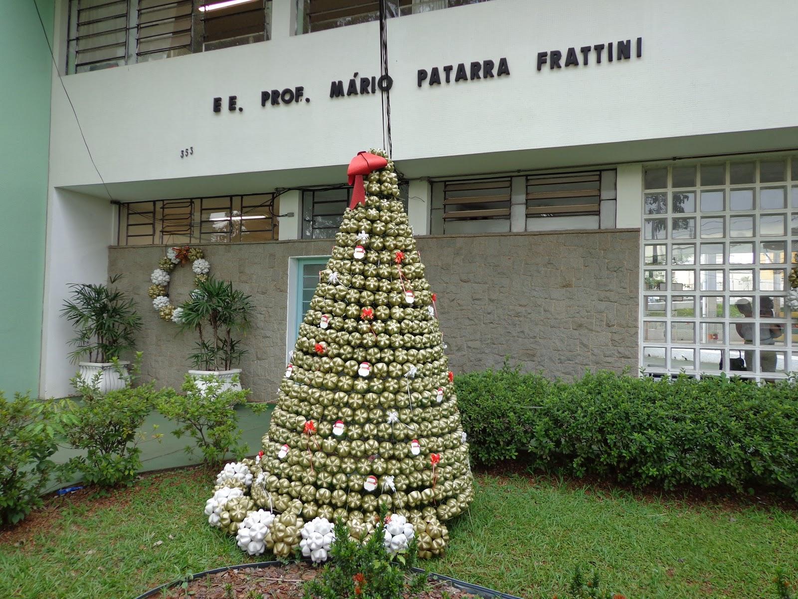 Escola Patarra Decoração De Natal