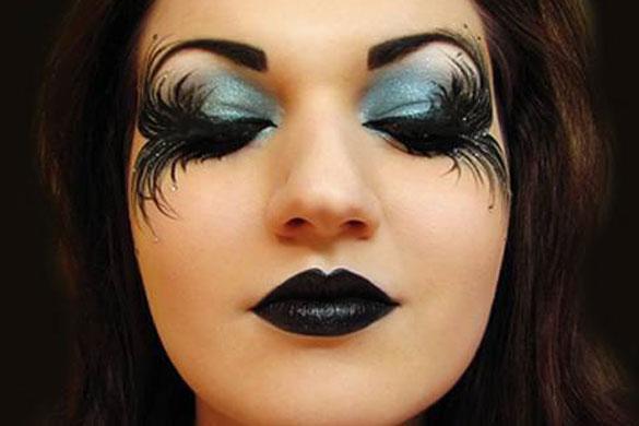 maquillajes y trucos originales noche halloween trucos de mujer