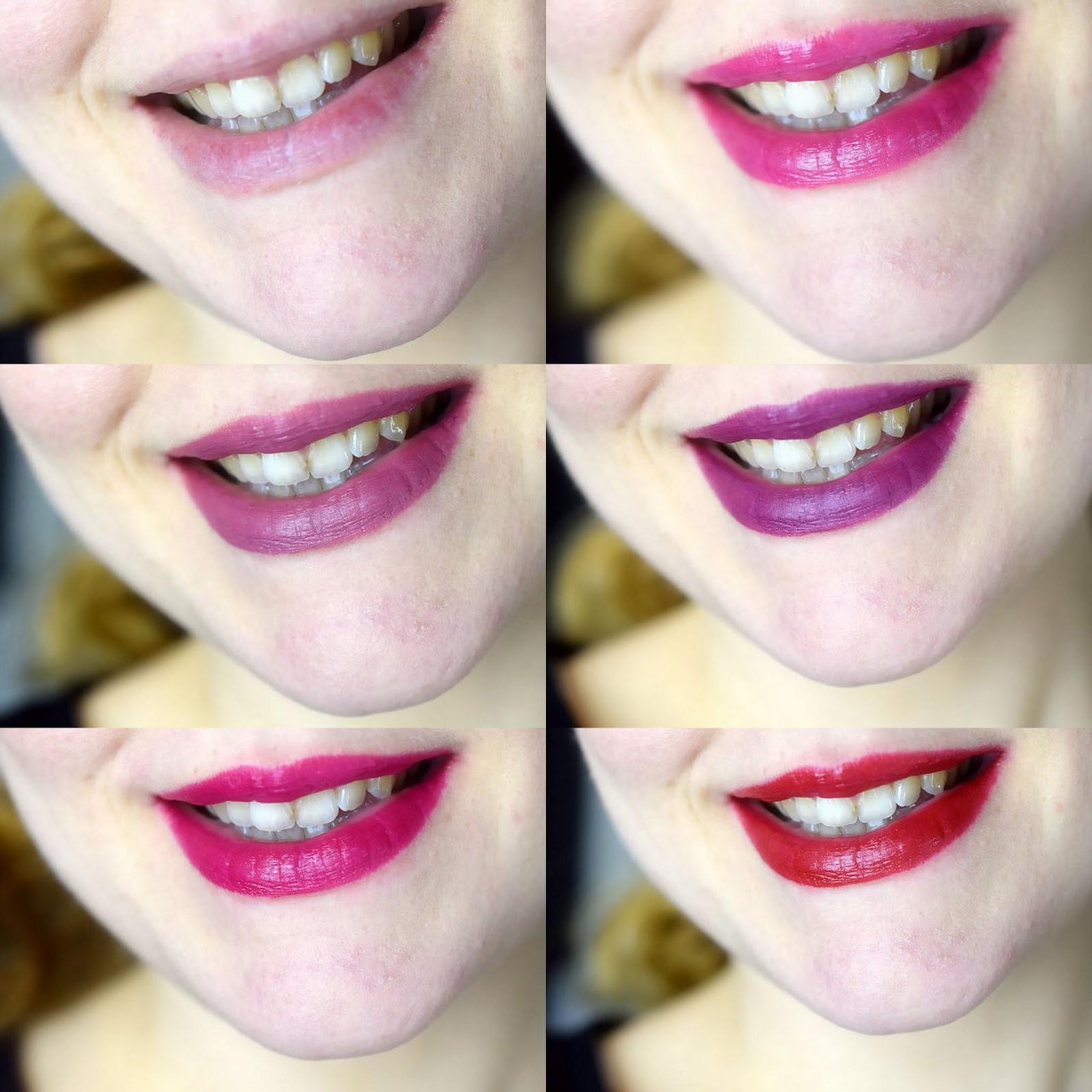 Wirkung Lippenstiftfarben Farbe gelbe Zähne