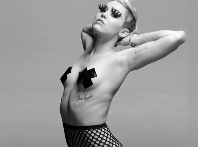 Miley Cyrus es un símbolo sexual