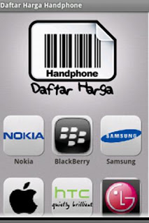 Daftar Harga Handphone - Aplikasi untuk mengecek Harga Hp terbaru