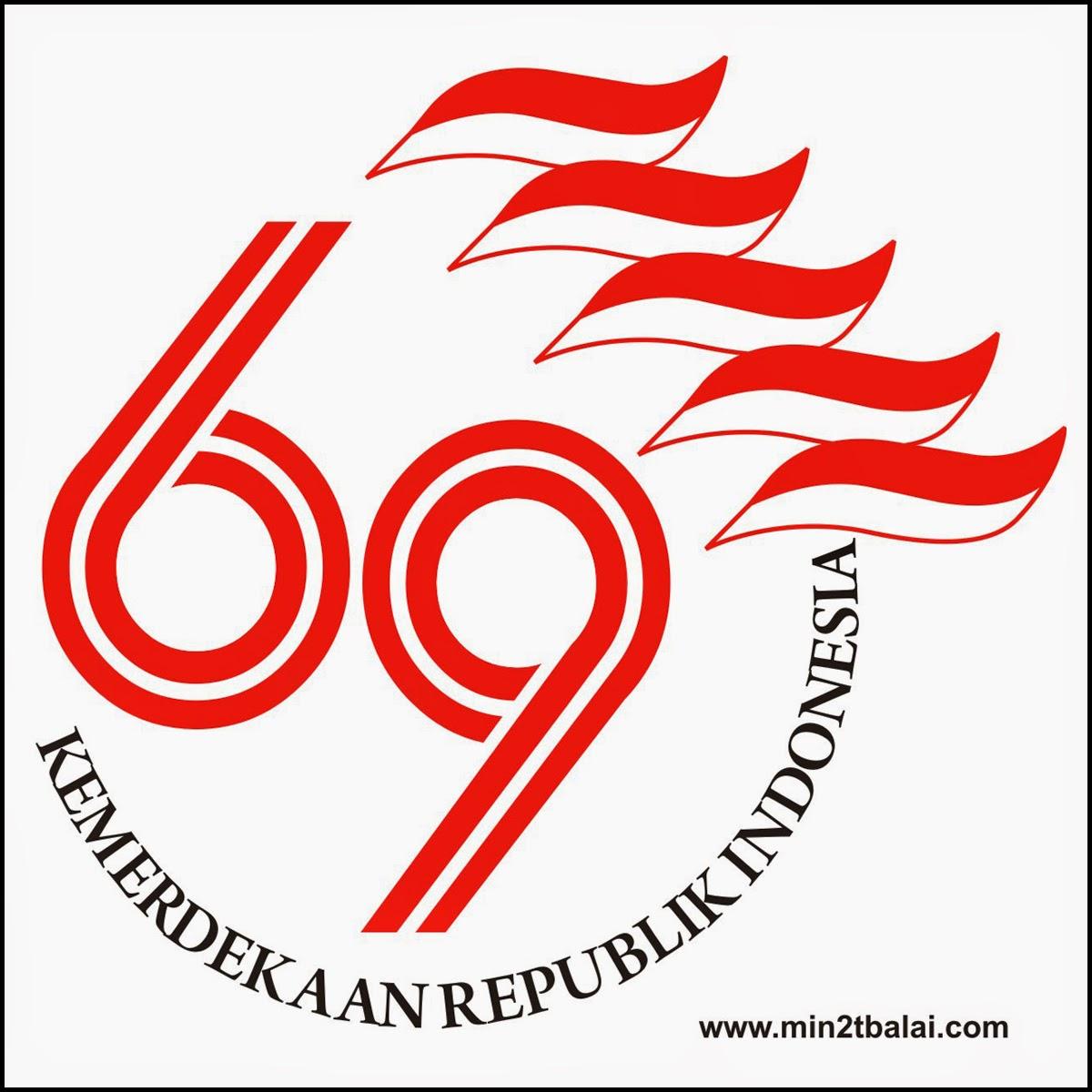 Logo Kemerdekaan RI Ke 69
