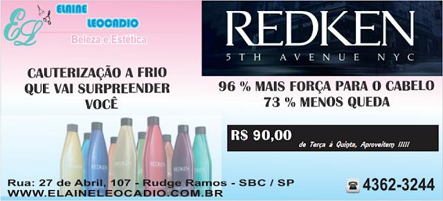 SALÃO DE BELEZA - Cauterizaçao A Frio Redken