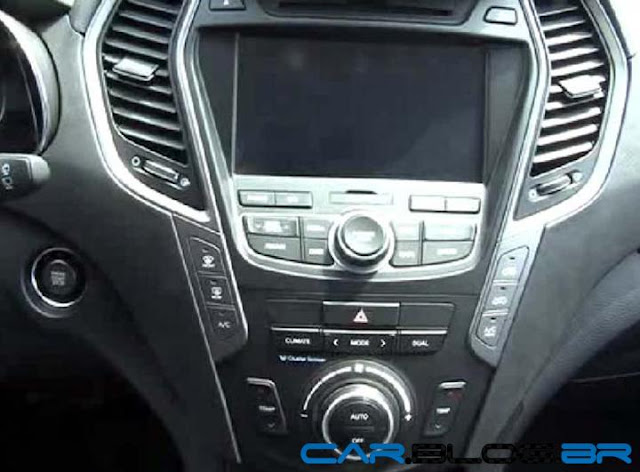 Hyundai Santa Fé 2013 - interior console central